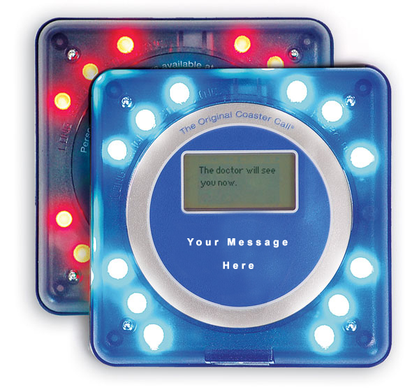 Alphanumeric Coaster Pager